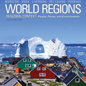 Solution Manual (Complete Download) for   World Regions in Global Context: Peoples