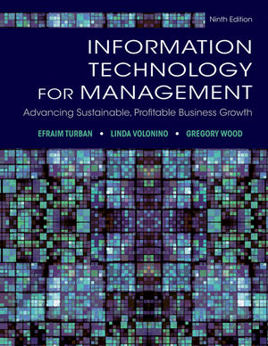 Solution Manual (Complete Download) for   Information Technology for Management: Advancing Sustainable