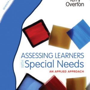 Solution Manual (Complete Download) for   Assessing Learners with Special Needs: An Applied Approach