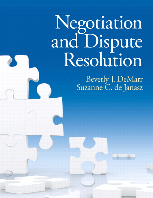 Solution Manual (Complete Download) for   Negotiation and Dispute Resolution