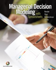 Solution Manual (Complete Download) for   Managerial Decision Modeling with Spreadsheets
