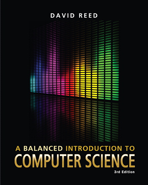 Solution Manual (Complete Download) for   A Balanced Introduction to Computer Science
