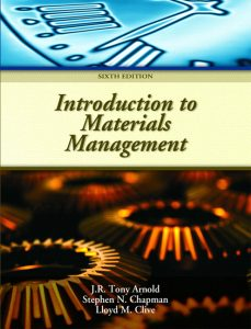 Solution Manual (Complete Download) for   Introduction to Materials Management