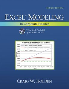 Solution Manual (Complete Download) for   Excel Modeling in Corporate Finance