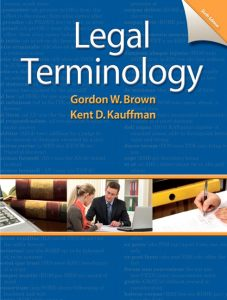 Solution Manual (Complete Download) for   Legal Terminology