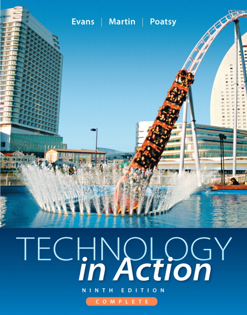 Solution Manual (Complete Download) for   Technology In Action Complete