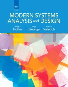 Solution Manual (Complete Download) for   Modern Systems Analysis and Design