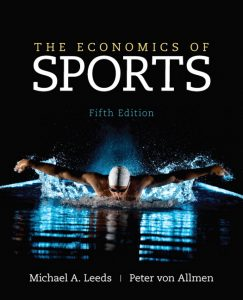 Solution Manual (Complete Download) for   The Economics of Sports
