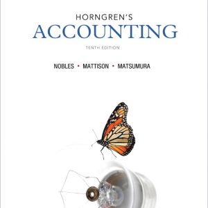 Solution Manual (Complete Download) for   Horngren's Accounting