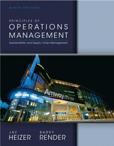 Solution Manual (Complete Download) for   Principles of Operations Management
