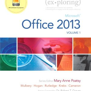 Solution Manual (Complete Download) for   Exploring Microsoft Office 2013
