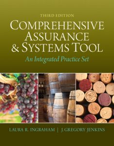 Solution Manual (Complete Download) for   Integrated Practice Set for Comprehensive Assurance & Systems Tool (CAST)