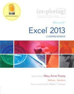 Solution Manual (Complete Download) for   Exploring: Microsoft Excel 2013