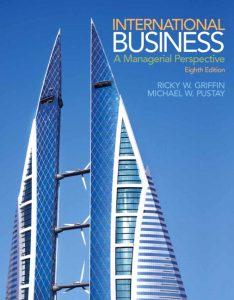 Solution Manual (Complete Download) for   International Business: A Managerial Perspective
