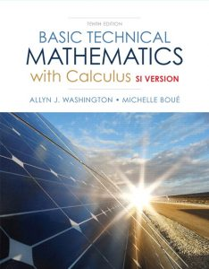 Solution Manual (Complete Download) for   Basic Technical Mathematics with Calculus