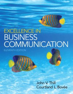 Solution Manual (Complete Download) for   Excellence in Business Communication