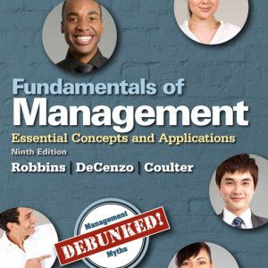 Solution Manual (Complete Download) for   Fundamentals of Management: Essential Concepts and Applications