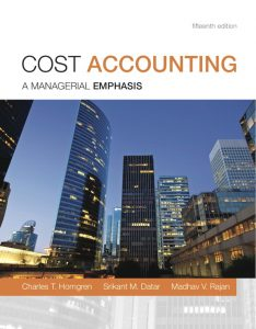 Solution Manual (Complete Download) for   Cost Accounting