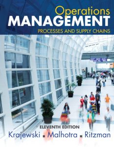 Solution Manual (Complete Download) forOperations Management: Processes and Supply Chains