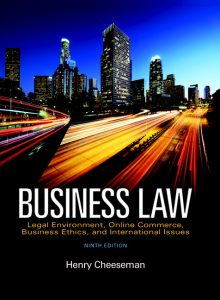 Solution Manual (Complete Download) for   Business Law: Legal Environment