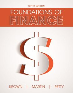 Solution Manual (Complete Download) forFoundations of Finance