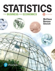 Solution Manual (Complete Download) forStatistics for Business and Economics