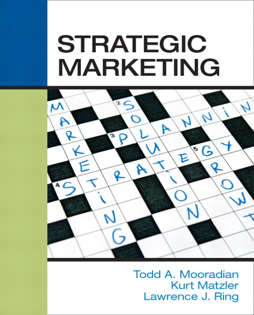 Solution Manual (Complete Download) for   Strategic Marketing