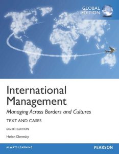 Solution Manual (Complete Download) for   International Management