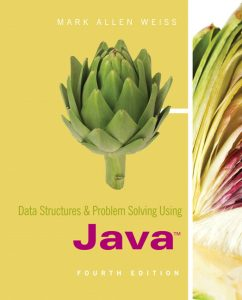 Solution Manual (Complete Download) for   Data Structures and Problem Solving Using Java