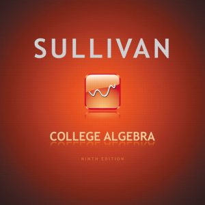 Solution Manual (Complete Download) for   College Algebra