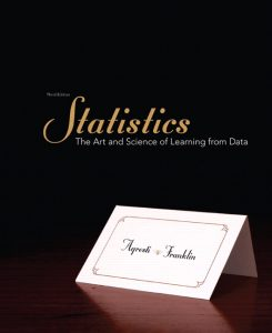 Solution Manual (Complete Download) for   Statistics: The Art and Science of Learning from Data