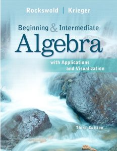 Solution Manual (Complete Download) for   Beginning and Intermediate Algebra with Applications & Visualization