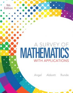 Solution Manual (Complete Download) for   A Survey of Mathematics with Applications