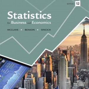 Solution Manual (Complete Download) for   Statistics for Business and Economics