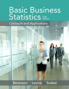 Solution Manual (Complete Download) for   Basic Business Statistics