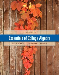 Solution Manual (Complete Download) for   Essentials of College Algebra