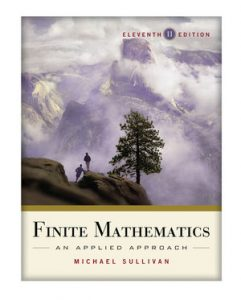 Solution Manual (Complete Download) for   Finite Mathematics: An Applied Approach