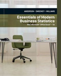 Solution Manual (Complete Download) for   Essentials of Modern Business Statistics with Microsoft'® Excel'®