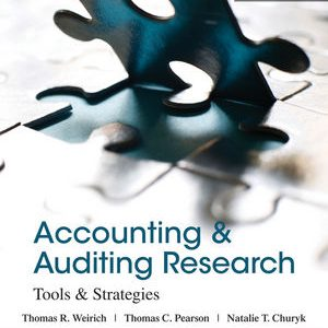Solution Manual (Complete Download) for   Accounting and Auditing Research: Tools and Strategies