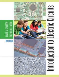 Solution Manual (Complete Download) for   Introduction to Electric Circuits