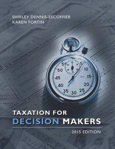 Solution Manual (Complete Download) for   Taxation for Decision Makers