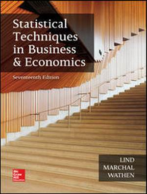 Solution Manual (Complete Download) for Statistical Techniques in Business and Economics
