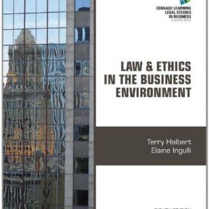 Solution Manual (Complete Download) for   Law and Ethics in the Business Environment
