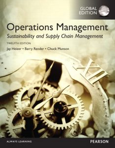 Solution Manual (Complete Download) forOperations Management: Sustainability and Supply Chain Management