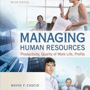 Solution Manual forManaging Human Resources