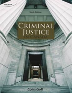 Solution Manual (Complete Download) for   Criminal Justice in Canada