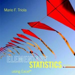 Solution Manual (Complete Download) for   Elementary Statistics Using Excel