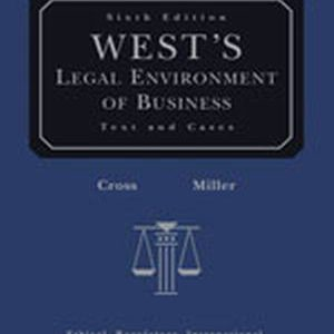 Solution Manual (Complete Download) for   West's Legal Environment of Business