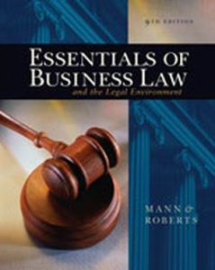 Solution Manual (Complete Download) for   Essentials of Business Law and the Legal Environment