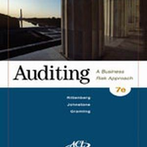 Solution Manual (Complete Download) for   Auditing: A Business Risk Approach
